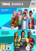 The Sims 4 + Discover University Bundle PC - Instant Download