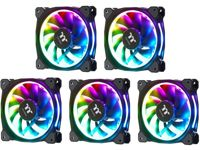 Thermaltake Riing Plus 12 RGB 120mm Computer Case Fans - 5 Pack