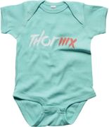 Thor Infant MX Supermini Baby Romper, green, size 0 - 6 months