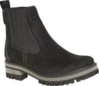 Timberland W Courmayeur Valley Chelsea Boot Jet Black Earthybuck, Size EU 40 - Womens Sneakers, Color Black