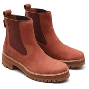 Timberland W Courmayeur Valley Chelsea Boot Smoked Paprika, Size EU 37 - Womens Sneakers, Color Brown