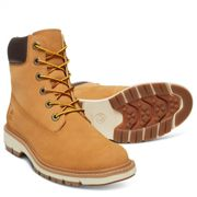 Timberland W Lucia WAY 6-Inch Boot Wheat Waterbuck, Size EU 38.5 - Womens Sneakers, Color Yellow