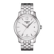 Tissot T0632101103700 Women's Tradition Date Bracelet Strap Watch, Silver