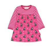 Toby Tiger - Organic Kitten Print Dress - 1-2 years