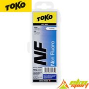TOKO Nf Hot Wax 120g Blue - Ski wax - White/Blue/Yellow - taille UNIQUE