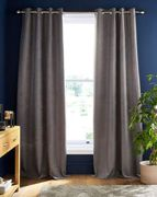 Toledo Chenille Thermal Eyelet Curtains 168X183