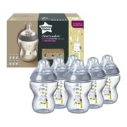 Tommee Tippee Closer to Nature Toot Toot Baby Bottles - Boy Blue