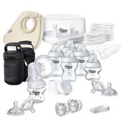 Tommee Tippee Closer to Nature Microwave Steriliser and Breast Pump Set