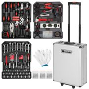 Tool box trolley 799 pieces - black