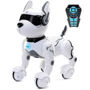 Top Race Remote Control Robot Dog Toy for Kids, Interactive & Smart Dancing to Beat Puppy Robot, Act Like Real Dogs, Gift Toy For Girls & Boys Age 3+