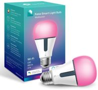 TP-Link KL130 Kasa Wi-Fi, E27 Screw-In, Smart Multicolour LED Light Bulb with Dimmable Light