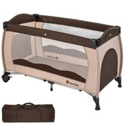 Travel cot for children coffee