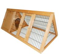 Triangle Portable Rabbit Hutch (Cover available)