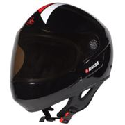 Triple Eight Racer Full Face Helmet / Schwarz55.0-58.0 / S-M
