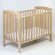 Troll Nursery Crib Nicole 120x60 Natural with teether