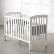 Troll Nursery Crib Nicole 120x60 White with teether