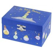 Trousselier - Blue The Little Prince Phosphorescent Musical Box