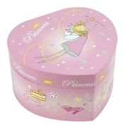 Trousselier - Pink Princess Big Heart Music Box