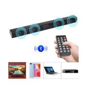 TV Home Theater Bluetooth Sound Bar Speaker System w/ Remote
