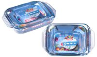 Two Pyrex Three-Roaster Sets
