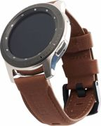 UAG Leather Strap for SAMSUNG Galaxy Watch 42mm, Gear S3 42mm, Active Watch 20mm - Brown - 29181B114080