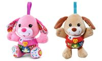 V-Tech Little Singing Puppy: Brown and Pink/Two