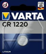 Varta Electronics CR1220 Lithium Button Cell 3V pack of 1