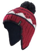 Vaude Kids Knitted Cap IV Eclipse, Size S - Kids Accessory, Color RED