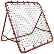 vidaXL Adjustable Football Rebounder - 100x100cm | Target Training Net