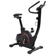 vidaXL Magnetic Exercise Bike with Pulse Measurement XL Gym Fitness Equipment