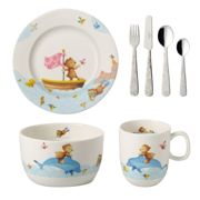 Villeroy & Boch Happy as a Bear children's dinnerware and cutlery 7 pieces