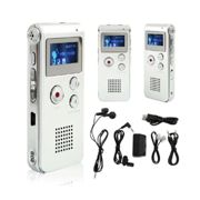 Voice Activated Record Digital Audio Dictaphone Telephone Phone Player