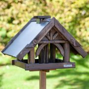 VOSS.garden Sibo - Wooden Bird Table with Stand