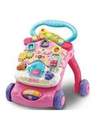 Vtech First Steps Baby Walker - Pink One Colour