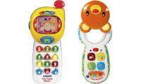 VTech Peek and Play Phone and VTech Tiny Touch Phone