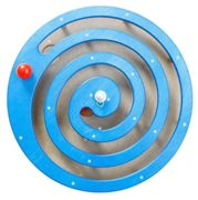 Wall panel Ball spiral Blue