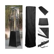 Waterproof Pyramid Flame Patio Gas Heater Cover Garden/Outdoor Dust UV Protector
