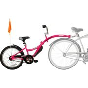 WeeRide Co Pilot Tagalong Trailer Bike - Pink | Child Trailers Pink