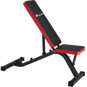 Weight bench - black/red