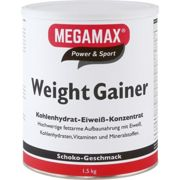 WEIGHT GAINER Megamax Schoko Pulver 1500 g