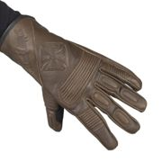 West Coast Choppers Bfu Leather Riding Gloves Tobacco Brown 2XL (12)