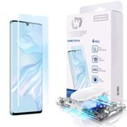 WHITESTONE DOME Tempered Glass Fullcover 3D 9H 0.33MM FULL CURVED for HUAWEI P30 PRO - CLEAR