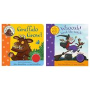 Whoosh Went The Witch & Gruffalo Growl Children's Book, Pack of 2