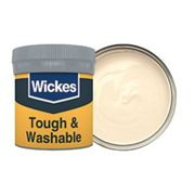 Wickes Magnolia - No. 310 Tough & Washable Matt Emulsion Paint Tester Pot - 50ml