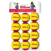 Wilson Starter Red (Stage 3) 12 Pack , Size: nosize