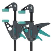 Wolfcraft One-handed Clamps 2 pieces EHZ 40-110 3455100