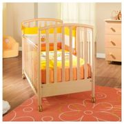 Wooden baby cot Ciak Naturale