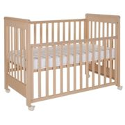 Wooden baby cot Dreamy Plus 2 Natural 1135