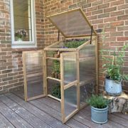 Wooden Framed Polycarbonate Garden Growhouse