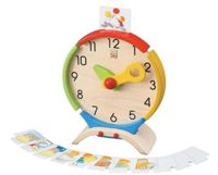Wooden Learning Game Activities Clock